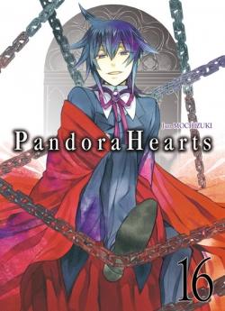 Couverture Pandora Hearts, tome 16