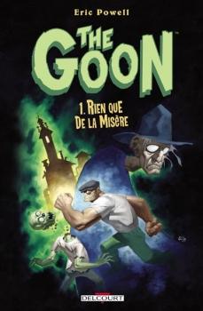 Couverture The Goon, tome 01 : Rien que de la misère