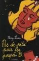 Couverture Pas de pitié pour les poupées B. Editions Syros (Mini souris noire) 2005