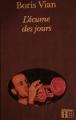 Couverture L'écume des jours Editions Hachette 1984