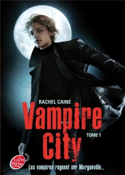 Couverture Vampire City, tome 01 : Bienvenue en enfer
