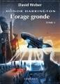Couverture Honor Harrington (23 tomes), tome 20 : L'orage gronde, partie 1 Editions L'Atalante (La Dentelle du cygne) 2013