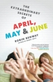 Couverture April, May & June Editions Razorbill 2011