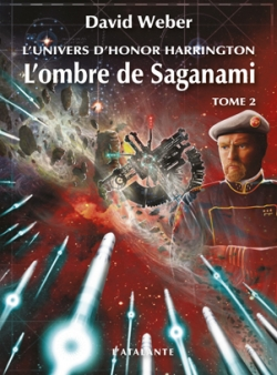 Couverture Honor Harrington : Saganami, tome 01 : L'Ombre de Saganami, partie 2