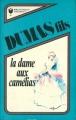 Couverture La Dame aux camélias Editions Marabout 1975