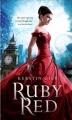 Couverture Trilogie des gemmes, tome 1 : Rouge rubis Editions Square Fish 2012