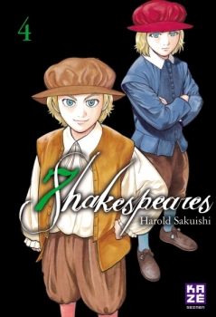 Couverture Seven Shakespeares, tome 4