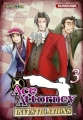 Couverture Ace Attorney : Investigations, tome 3 Editions  2013