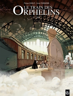 Couverture Le train des orphelins, tome 1 : Jim