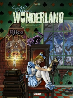 Couverture Little Alice in Wonderland, tome 1 : Run rabbit, run !