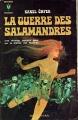 Couverture La Guerre des Salamandres Editions Marabout (Fantastique) 1969
