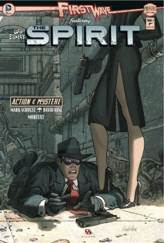 Couverture First Wave featuring The Spirit, tome 1