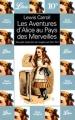 Couverture Alice au pays des merveilles / Les aventures d'Alice au pays des merveilles Editions Librio 2000