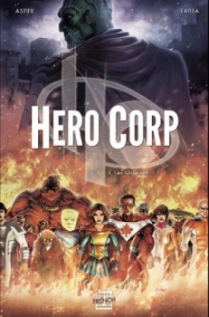 Couverture Hero Corp, tome 1
