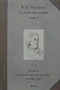 Couverture La Foire aux vanités, tome 1