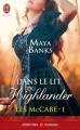 Couverture Les McCabe, tome 1 : Dans le lit du Highlander Editions J'ai Lu 2013