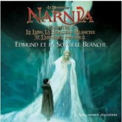 Couverture Le monde de Narnia (album), tome 1 : Le lion, la sorcière blanche et L'armoire magique : Edmund et la sorcière blanche