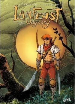 Couverture Lanfeust Odyssey, tome 04 : La grande traque