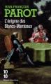 Couverture L'Énigme des Blancs-Manteaux Editions 10/18 (Grands détectives) 2012