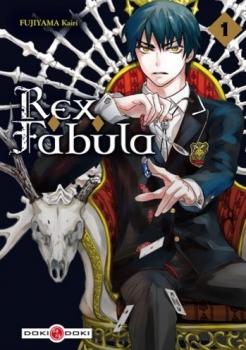 Couverture Rex Fabula, tome 1