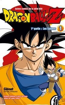 Couverture Dragon Ball Z (anime) : Les Saïyens, tome 1