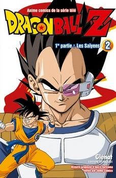 Couverture Dragon Ball Z (anime) : Les Saïyens, tome 2