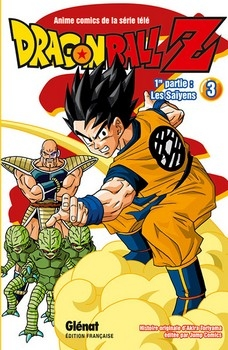 Couverture Dragon Ball Z (anime) : Les Saïyens, tome 3