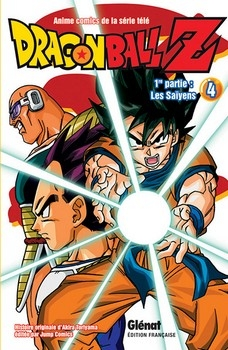 Couverture Dragon Ball Z (anime) : Les Saïyens, tome 4