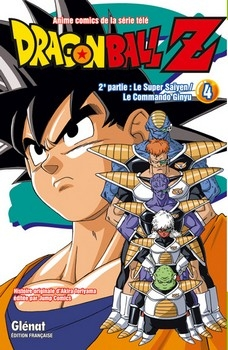 Couverture Dragon Ball Z (anime) : Le  Super saïyen, Le Commando Ginyu, tome 4