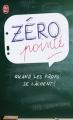 Couverture Zéro pointé Editions J'ai Lu (Humour) 2013