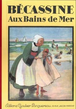 Couverture Bécassine, tome 18 : Bécassine aux Bains de Mer