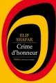 Couverture Crime d'honneur Editions Phebus 2013