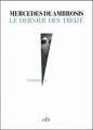 Couverture Le dernier des treize Editions ELB / La Branche (Vendredi 13) 2013