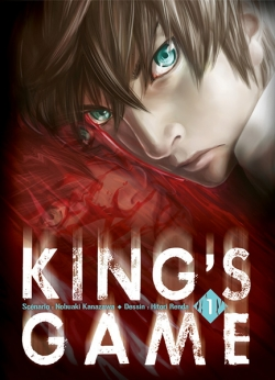 Couverture King's Game, tome 1
