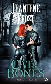 Couverture Chasseuse de la nuit : Cat & Bones