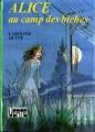 Couverture Alice au camp des biches Editions Hachette (Bibliothèque verte) 1982