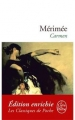 Couverture Carmen (roman) Editions Le Livre de Poche (Les Classiques de Poche) 2012