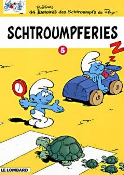 Couverture Schtroumpferies, tome 5