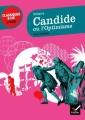 Couverture Candide / Candide ou l'optimisme Editions Hatier (Classiques & cie - Lycée) 2012