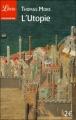 Couverture L'utopie Editions Librio (Philosophie) 2012
