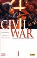 Couverture Civil War, tome 1 : Guerre civile Editions Panini (Marvel Deluxe) 2012