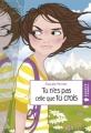 Couverture Tu n'es pas celle que tu crois Editions Rageot 2012