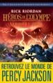 Couverture Héros de l'Olympe, tome 3 : La Marque d'Athéna Editions Albin Michel 2013