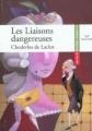 Couverture Les Liaisons dangereuses Editions Hatier (Classiques & cie) 2006