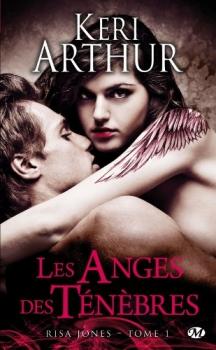 Couverture Risa Jones, tome 1 : Les Anges des Ténèbres