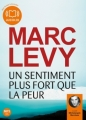 Couverture Un sentiment plus fort que la peur Editions Audiolib 2013