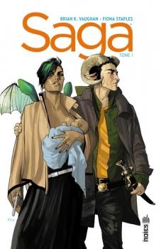 Couverture Saga, tome 01