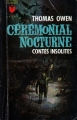 Couverture Cérémonial nocturne et autres contes insolites Editions Marabout (Géant) 1966