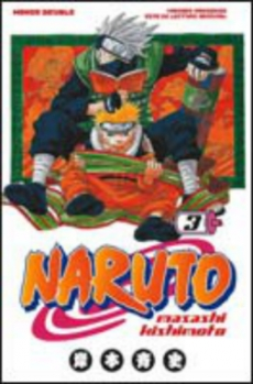 Couverture Naruto, double, tomes 3 et 4