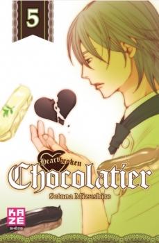 Couverture Heartbroken Chocolatier, tome 5